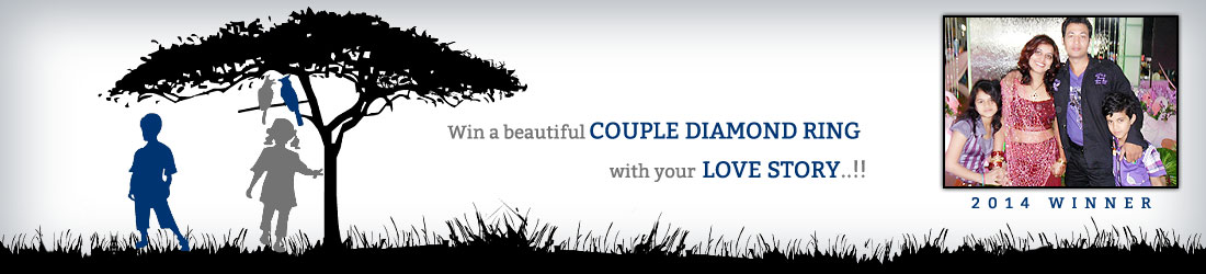 Win a beautiful couple diamond ring.